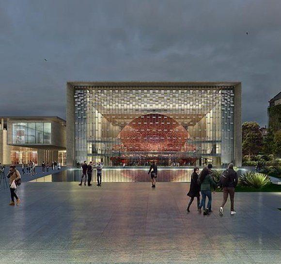 Taksim'deki Atatürk Kültür Merkezi inşaatı sona yaklaşıyor