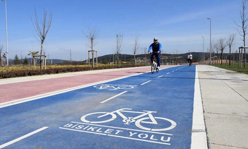 2023'e kadar 3 bin km bisiklet yolu