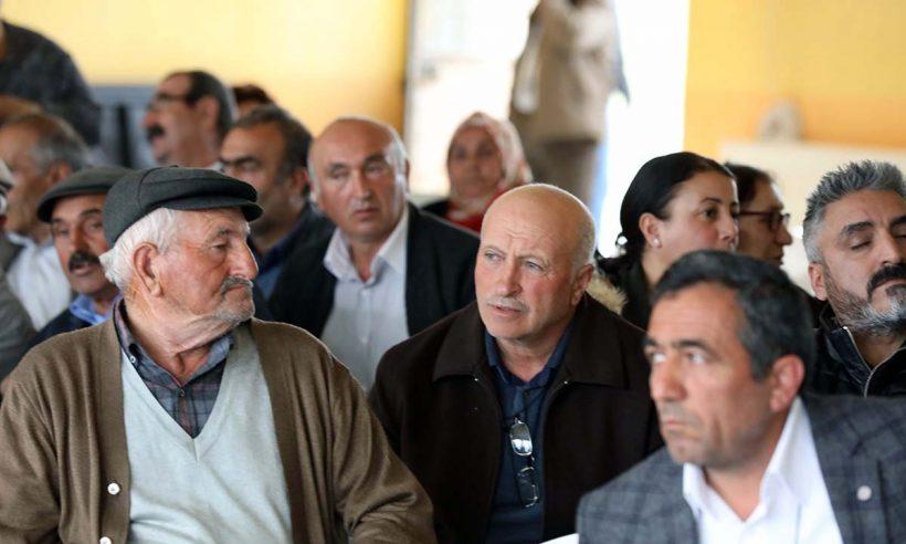 Erzincan Tarımköy konutlarında kura heyecanı