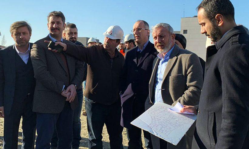 TOKİ Başkanı Bulut, İstanbul şantiyelerini inceledi