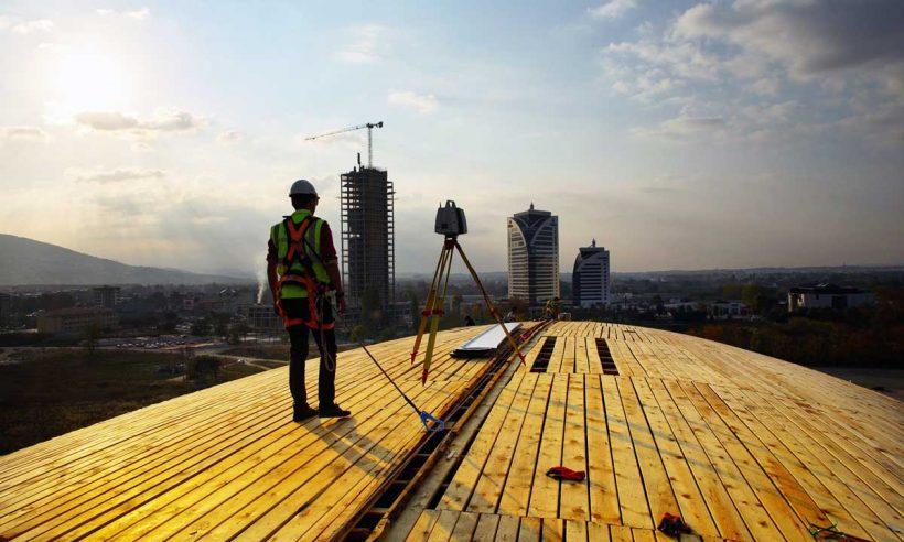 İstihdam edilenlerin yüzde 5,8'i inşaat sektöründe
