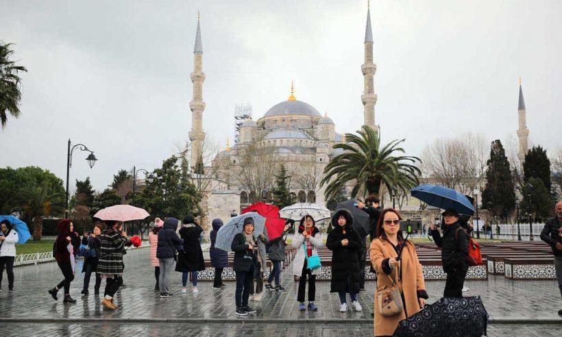 Yabancı turizmcilerden İstanbul'a rekor ilgi