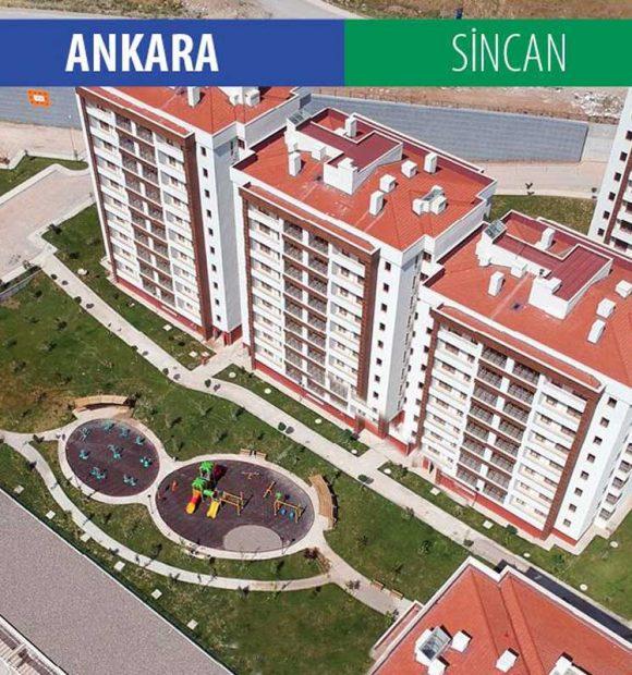 Ankara Sincan'da 966 konut sahiplerine teslim ediliyor