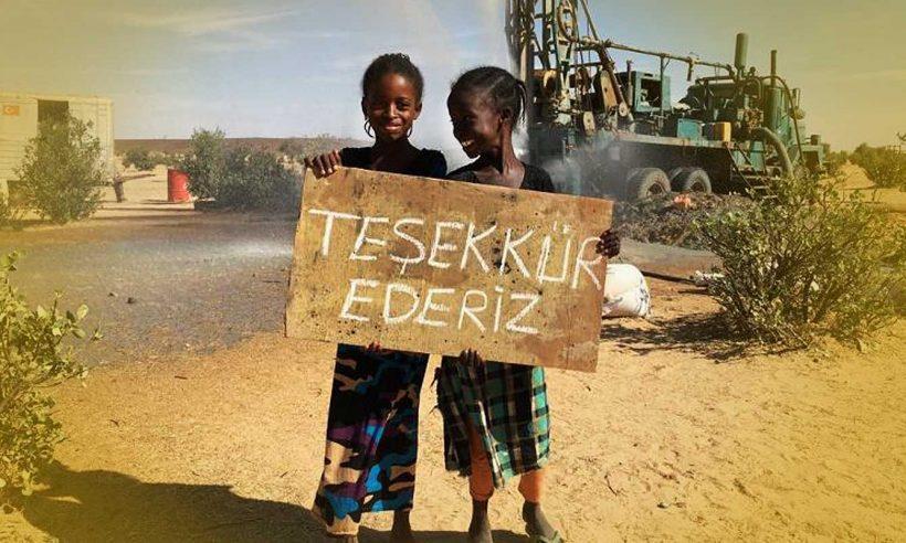 Türkiye'den Afrika'ya can suyu