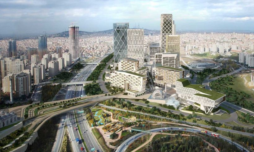 İstanbul Finans Merkezi Davos'ta tanıtılıyor