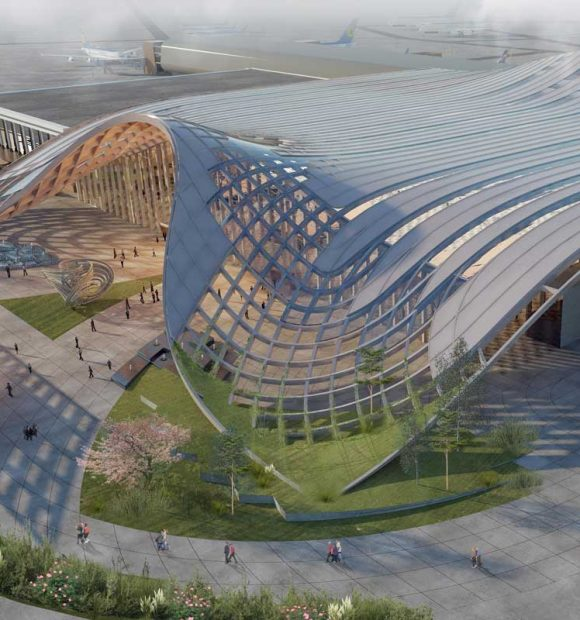 Taşkent Uluslararası Havalimanı tasarımına ödül