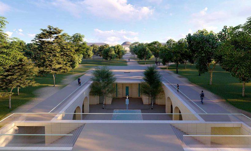 Gaziantep'e yöresel mimarili Millet Bahçesi