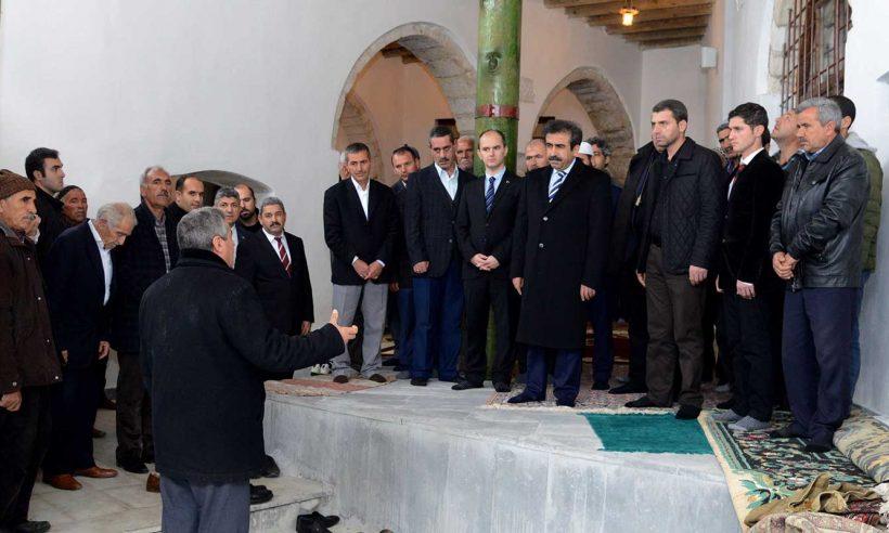 Diyarbakır'daki 1370 yıllık cami restore edildi