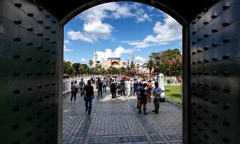 Turist sayısında yüzde 69'luk düşüş