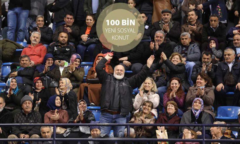 100 bin konutta kura heyecanı İzmir ile başladı