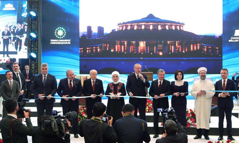 Cumhurbaşkanlığı Millet Kütüphanesi törenle açıldı