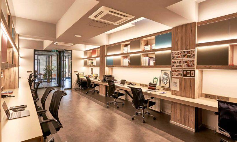 Iglo Architects'tan yeni ofis tasarımı