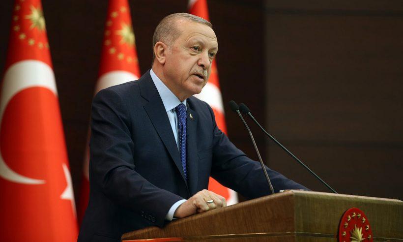Cumhurbaşkanı Erdoğan: TOKİ süratle yıkılan evlerin yerine yenisini yapacak