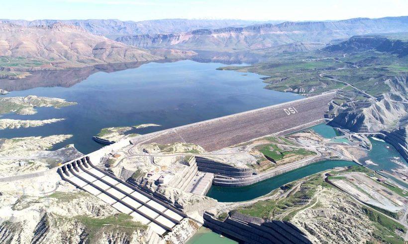 Ilısu Barajı tam kapasiteyle elektrik üretimine başladı