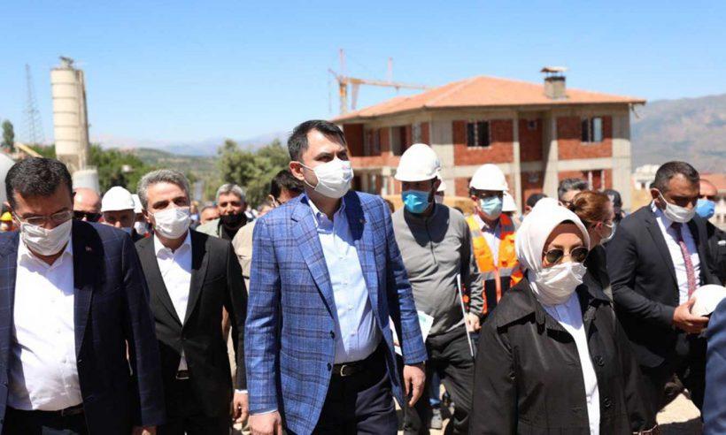 Malatya'daki 7 dönüşüm projesinde 4 bin 244 konut inşa edilecek
