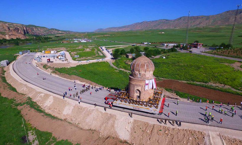 Hasankeyf'te dünyanın en geniş kapsamlı taşıma projesi