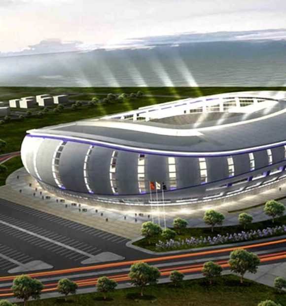 Karadeniz'in yeni stadı tamamlanıyor