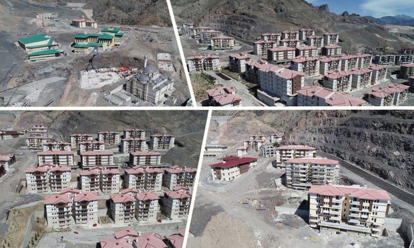 TOKİ, Yusufeli'nde yeni bir kent inşa ediyor