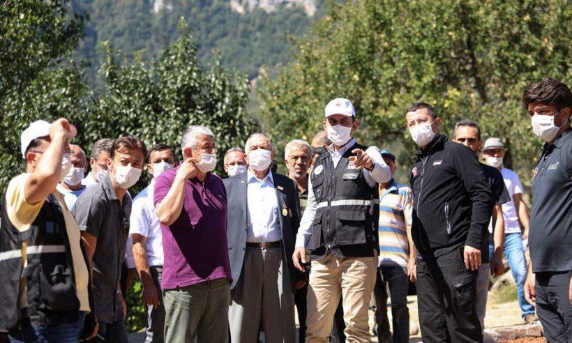Bakan Kurum sel mağdurlarının sorun ve taleplerini dinledi