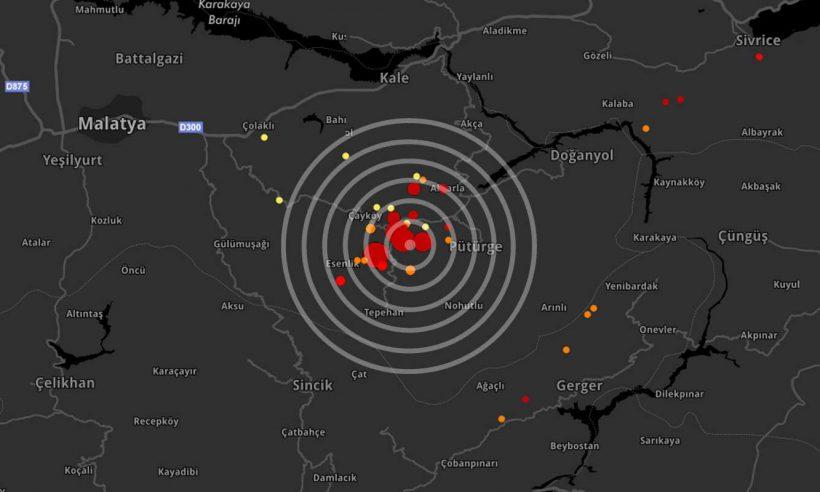 Malatya'da 4.0 şiddetinde deprem