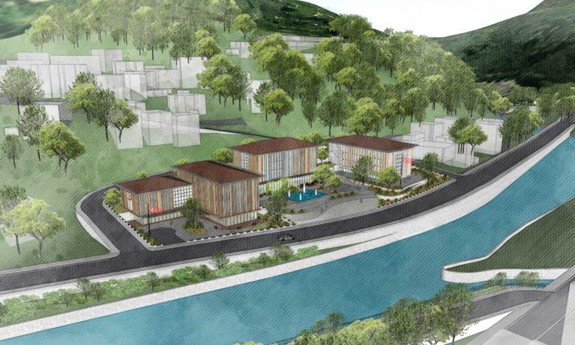 Selin vurduğu Dereli ilçesi yeniden inşa ediliyor
