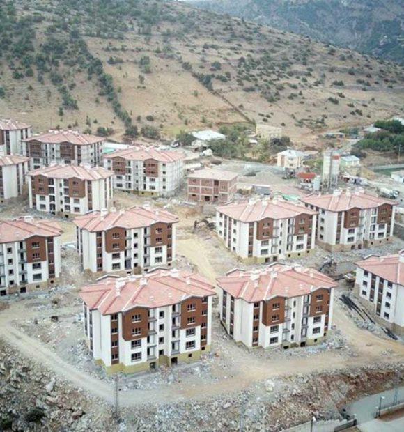 Malatya'da deprem sonrası yeni yerleşim alanları kuruldu