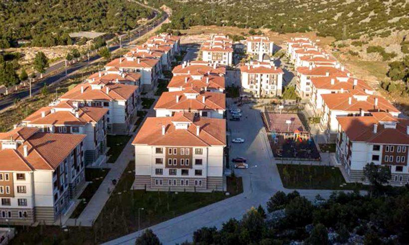 Antalya Akseki Toplu Konutlarında huzurlu bir yaşam