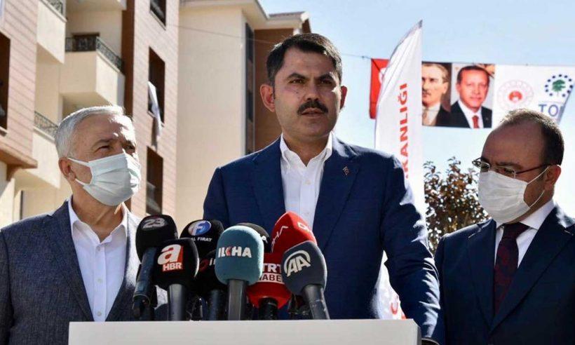 """""""Elazığ'da biten konutlarımızı hak sahibi vatandaşlarımıza teslim ediyoruz"""""""