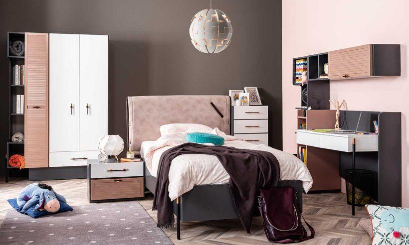 Weltew Home'dan trend genç odası: Avşa