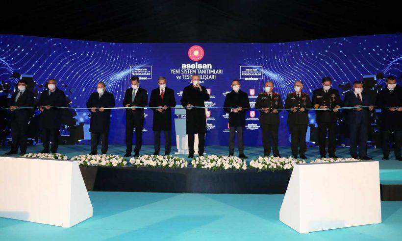 Cumhurbaşkanı Erdoğan, ASELSAN'ın yeni tesisinin açılışını gerçekleştirdi