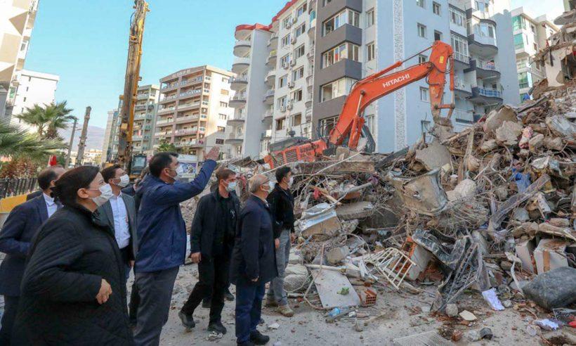 İzmir'deki hasar tespit çalışmaları tamamlanıyor