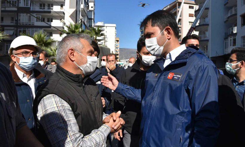 İzmir'de depremzedelere 2+1 ve 3+1 konut seçeneceği