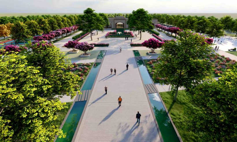 TOKİ'den Haliliye ve Eyyübiye'ye millet bahçesi