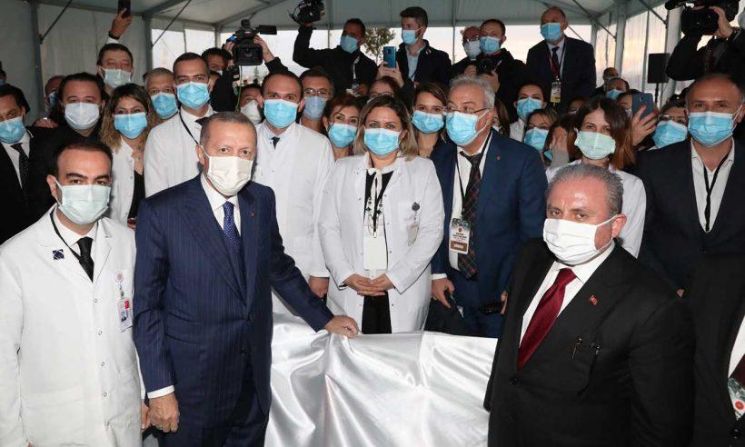 Cumhurbaşkanı Erdoğan, Tekirdağ Şehir Hastanesi'nin açılışını gerçekleştirdi