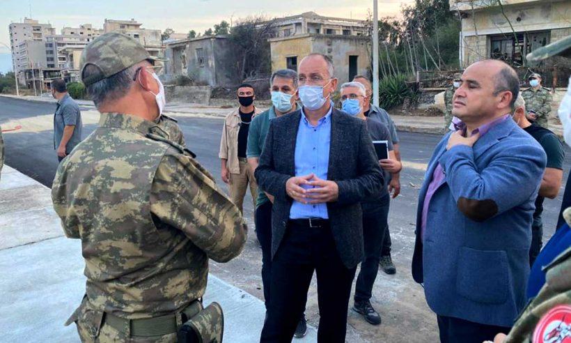 TOKİ Başkanı Bulut, Kapalı Maraş bölgesinde incelemelerde bulundu