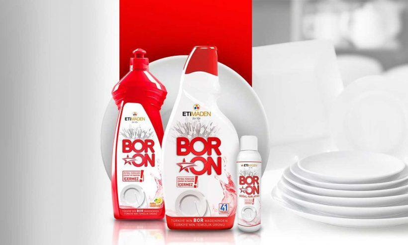 BORON'dan yeni temizlik ürünü