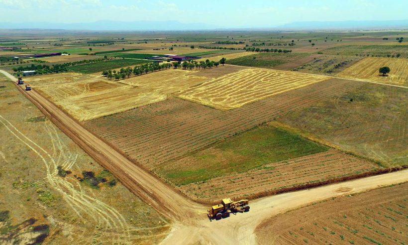 Toplulaştırılan arazi alanı 5 milyon hektara yaklaştı