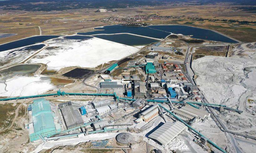 ETİ Maden Lityum Karbonat Üretim Tesisi açıldı