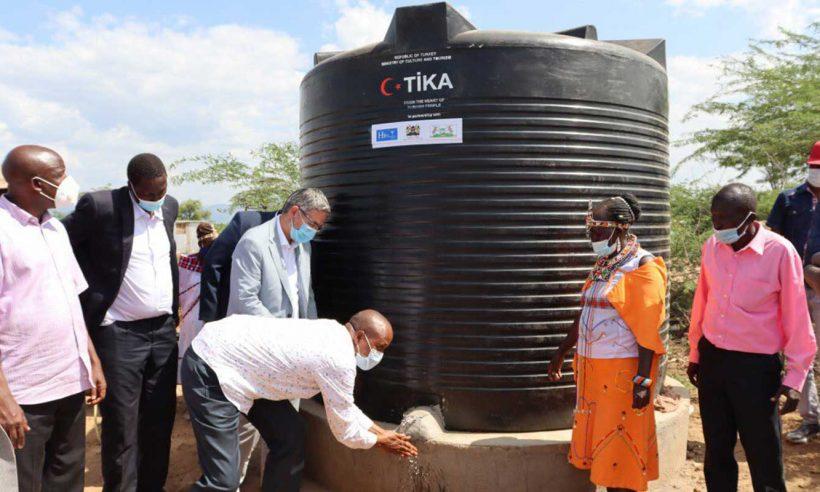 Kenya'da selzedelere su desteği