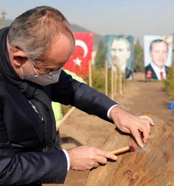 """""""11 millet bahçesi tamamlandı, 55'inin yapımı sürüyor"""""""