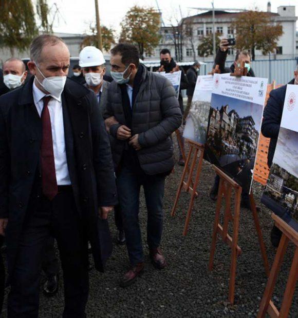 TOKİ Başkanı Ömer Bulut Trabzon'da incelemelerde bulundu