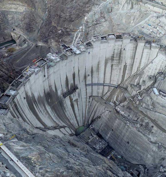 Yusufeli Barajı'nda son 15 metre