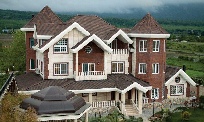 Hafif, su ve ses geçirmez çatı kaplama