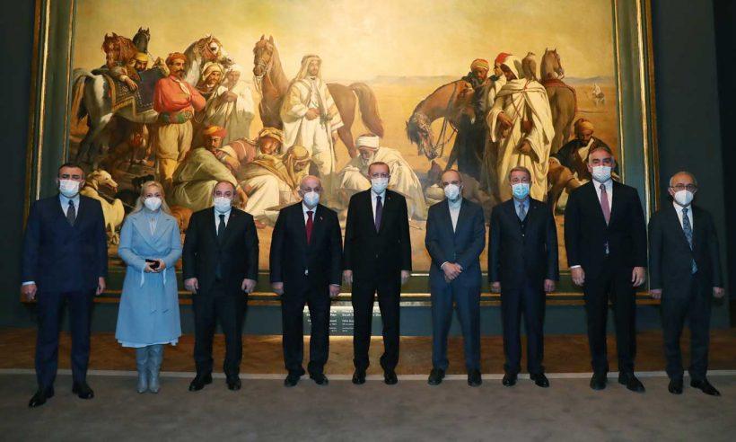 Restore edilen Milli Saraylar Resim Müzesi ziyarete açıldı