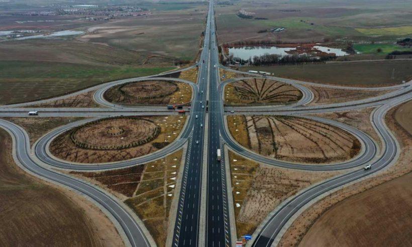 Ankara'da Yenikent-Temelli Yolu hizmete açıldı