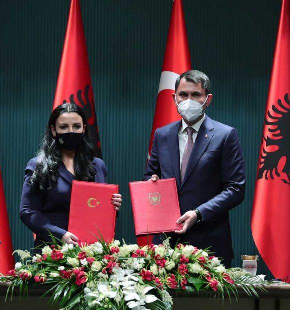 """""""Arnavutluk'a Çipli Elektronik Beton İzleme Sistemi kuracağız"""""""
