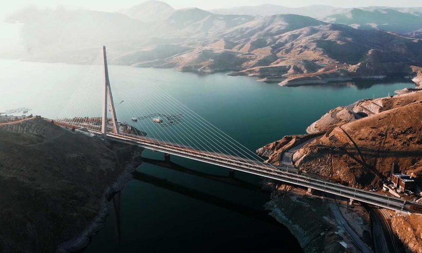 Kömürhan Köprüsü ve tünelleri törenle açıldı