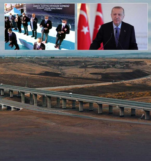 Devegeçidi Köprüsü ve bağlantı yolları törenle açıldı