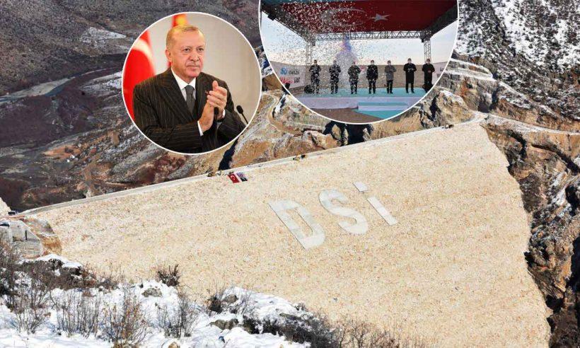 Diyarbakır Silvan Barajı'nın gövde dolgusu tamamlandı