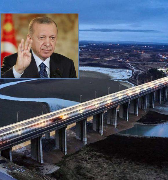 517 metre uzunluğundaki yeni Tohma Köprüsü hizmete açıldı